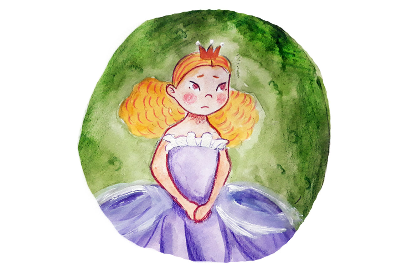 Princess stories for kids Baby Brother Surprise illustration 15