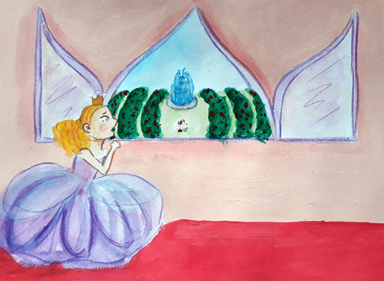Princess stories for kids Baby Brother Surprise illustration 20