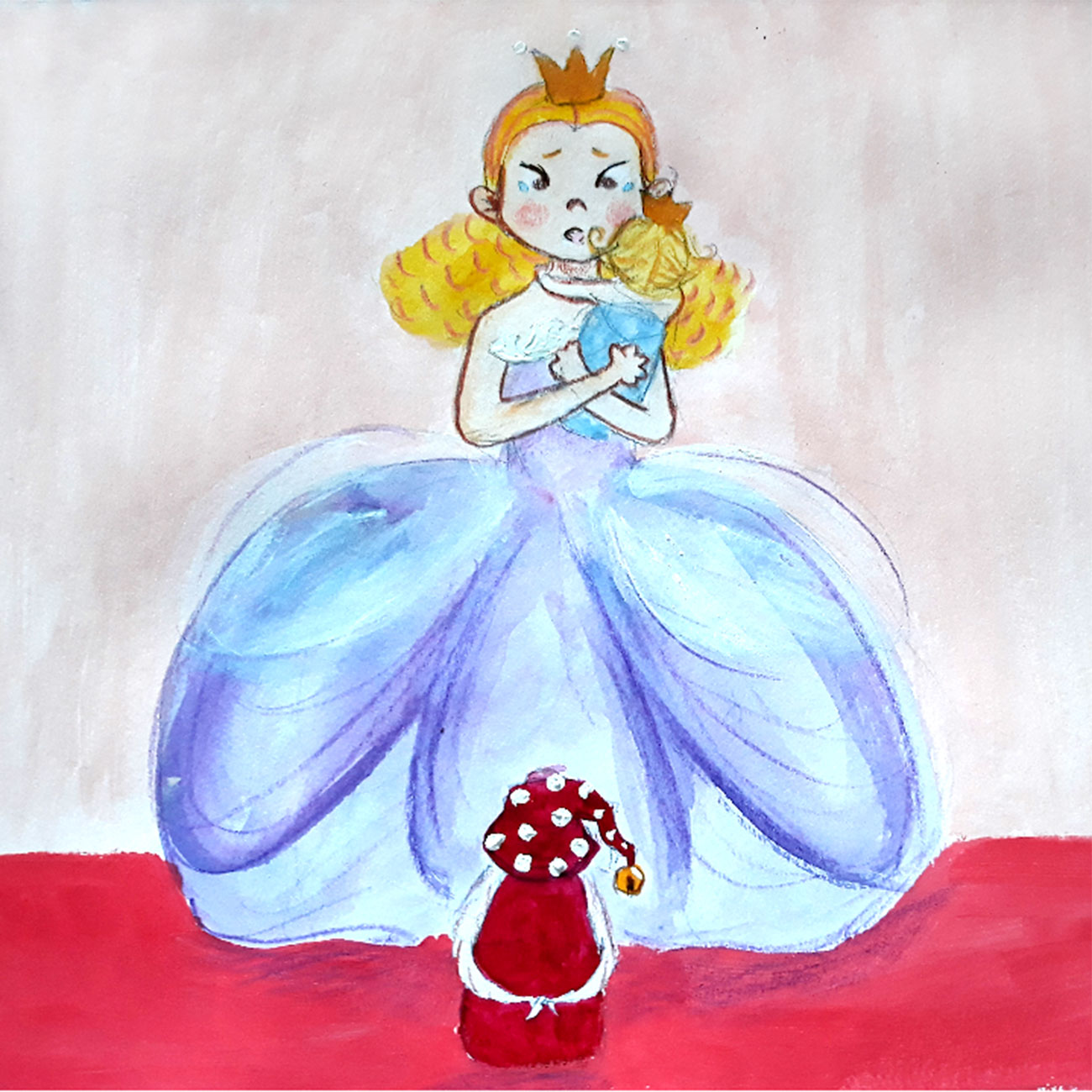 Princess stories for kids Baby Brother Surprise illustration 21