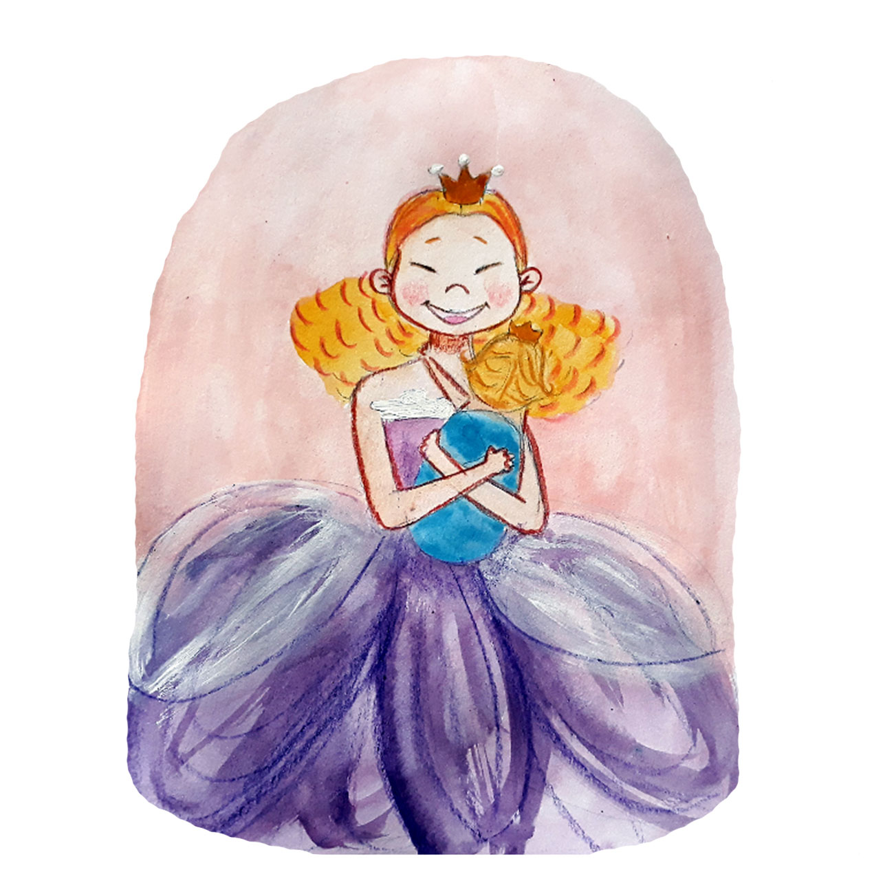 Princess stories for kids Baby Brother Surprise illustration 27