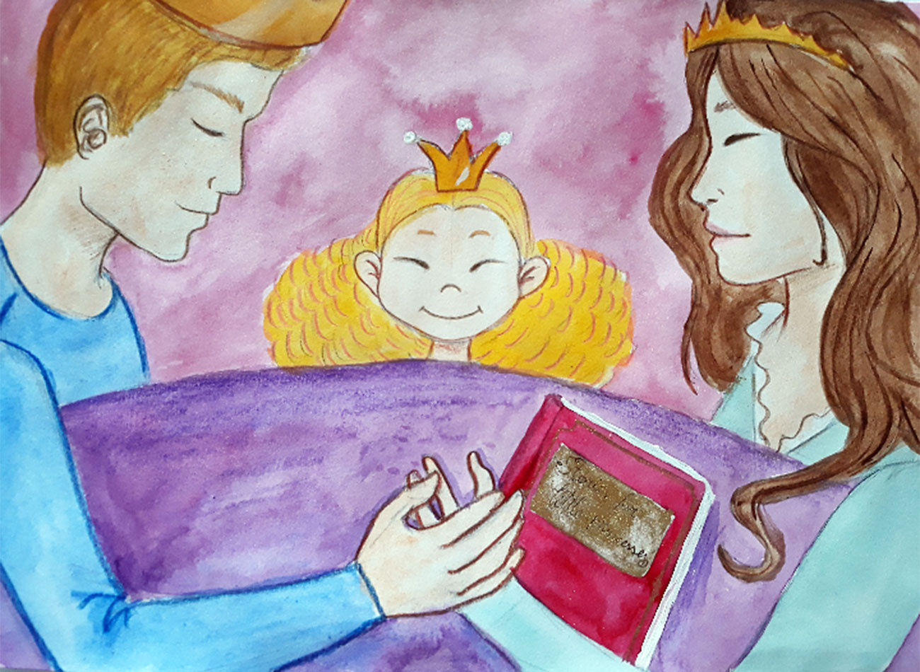 Princess stories for kids Baby Brother Surprise illustration 3
