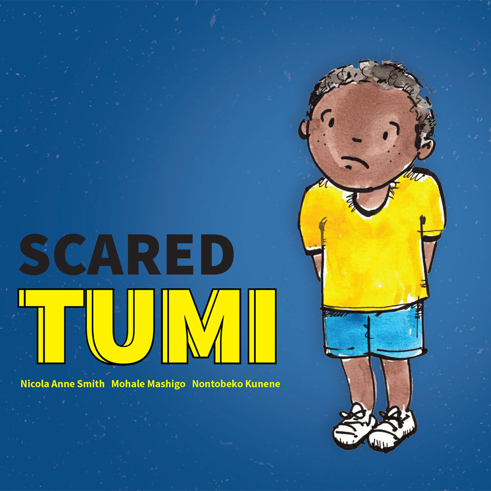 Scared Tumi short stories for kids free book cover