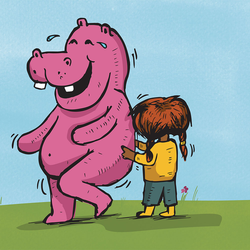 Short stories for kids Thats not Thabi that's a Hippopotamus page 22