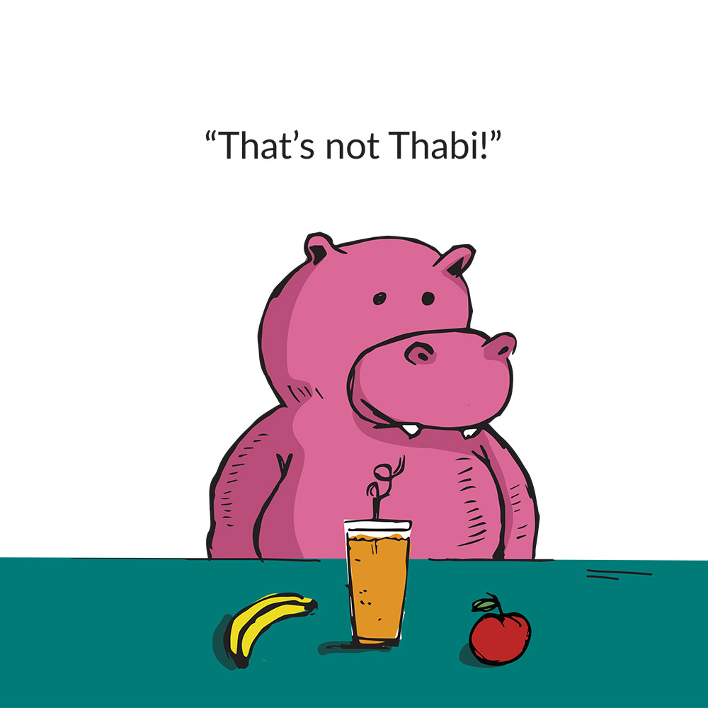 Short stories for kids Thats not Thabi that's a Hippopotamus page 7