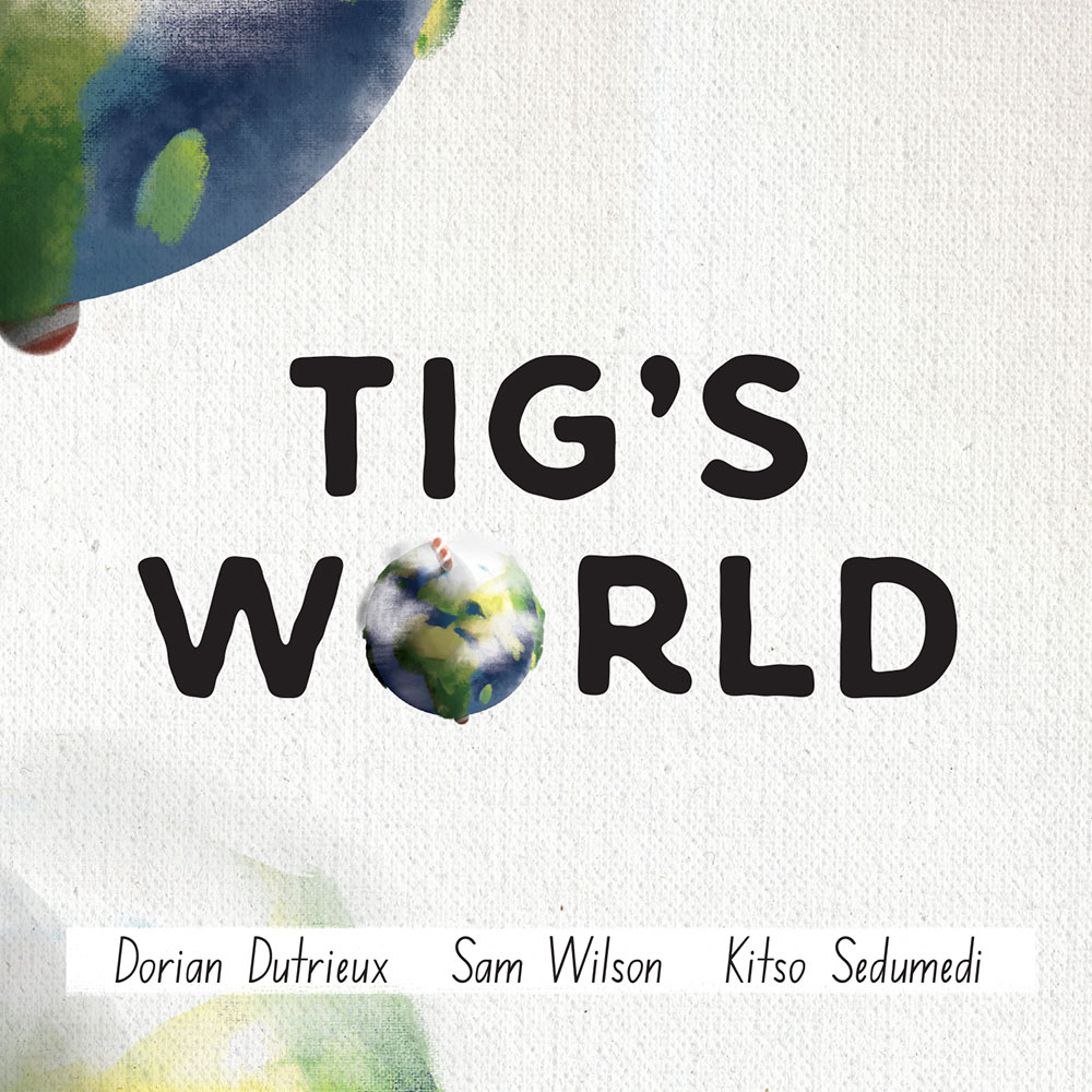 Short stories for kids Tigs World picture book cover