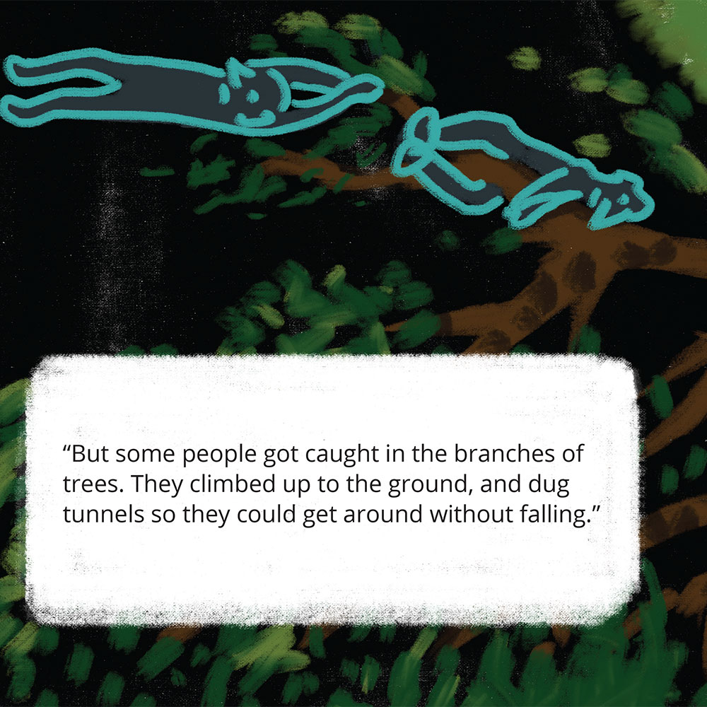 Short stories for kids Tigs World picture book page 19