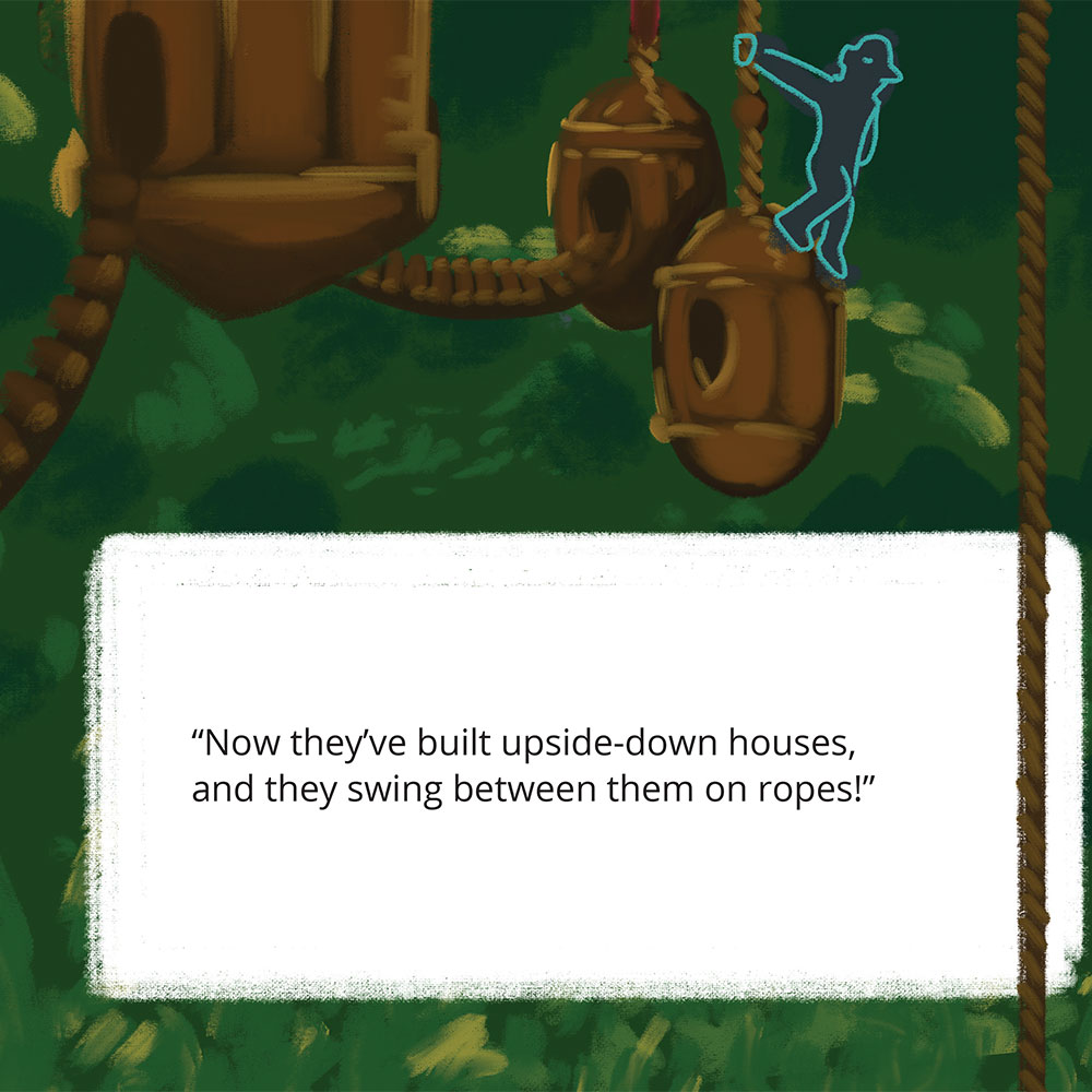 Short stories for kids Tigs World picture book page 22