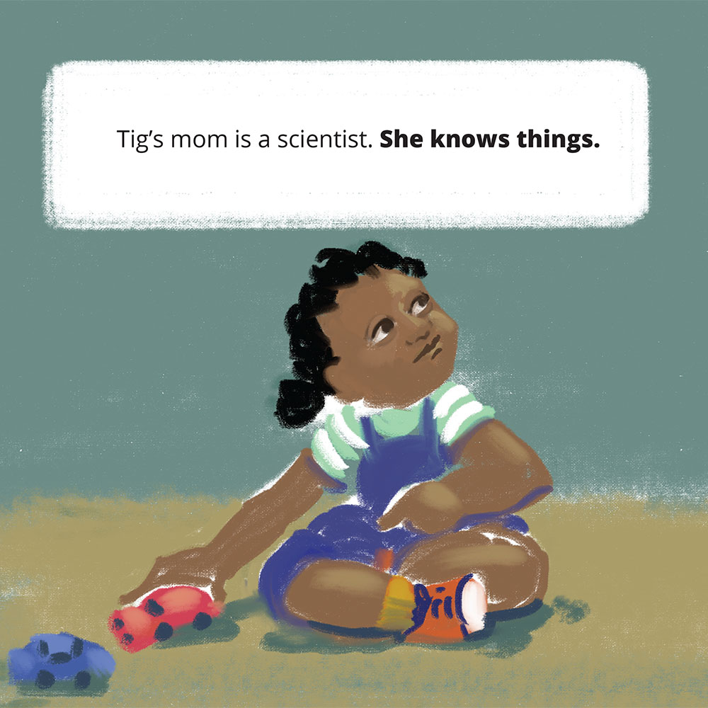 Short stories for kids Tigs World picture book page 3