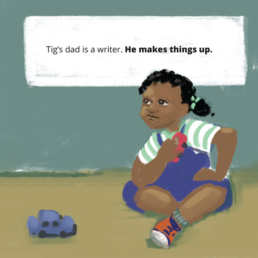 Short stories for kids Tigs World picture book page 6