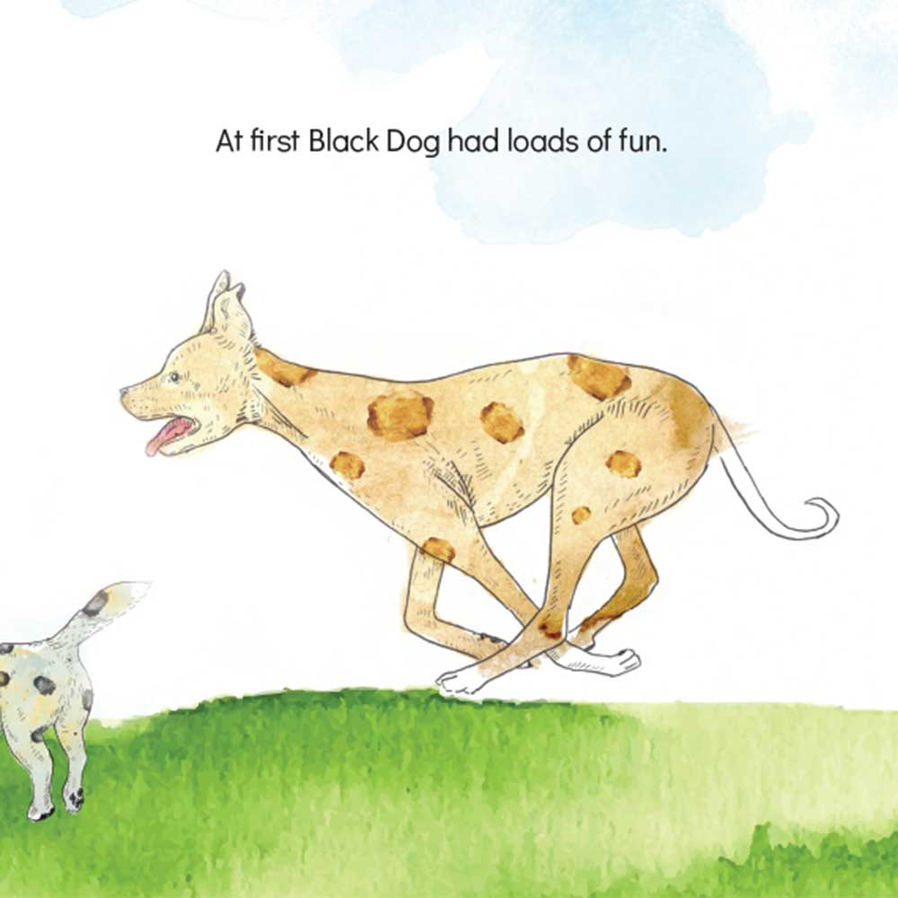 Short story for kids The Bounce dog tale page 10