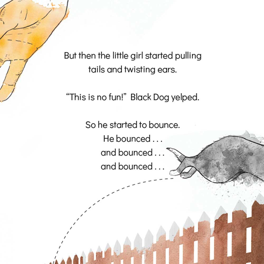 Short story for kids The Bounce dog tale page 12