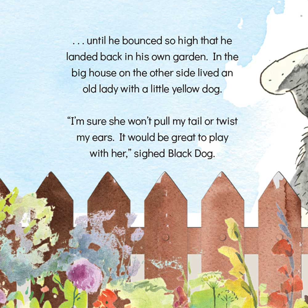 Short story for kids The Bounce dog tale page 13