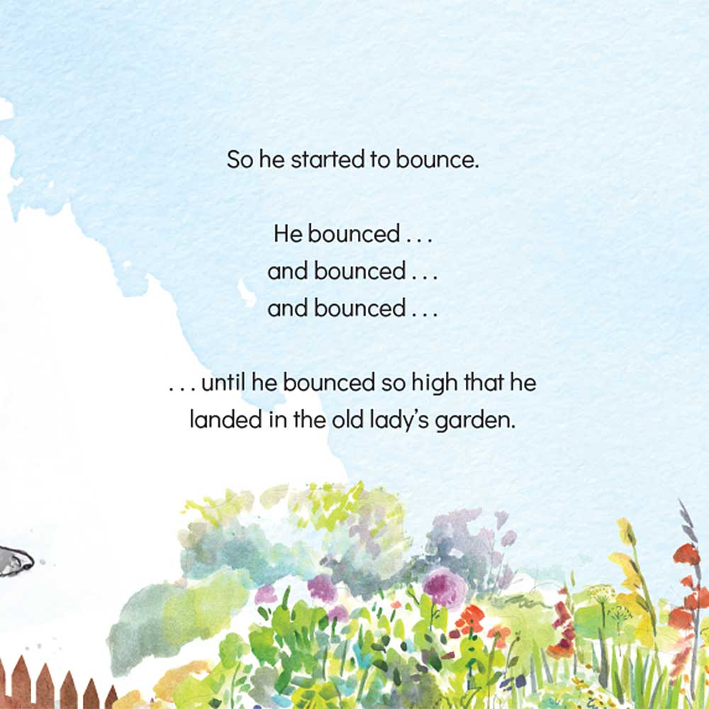 Short story for kids The Bounce dog tale page 16