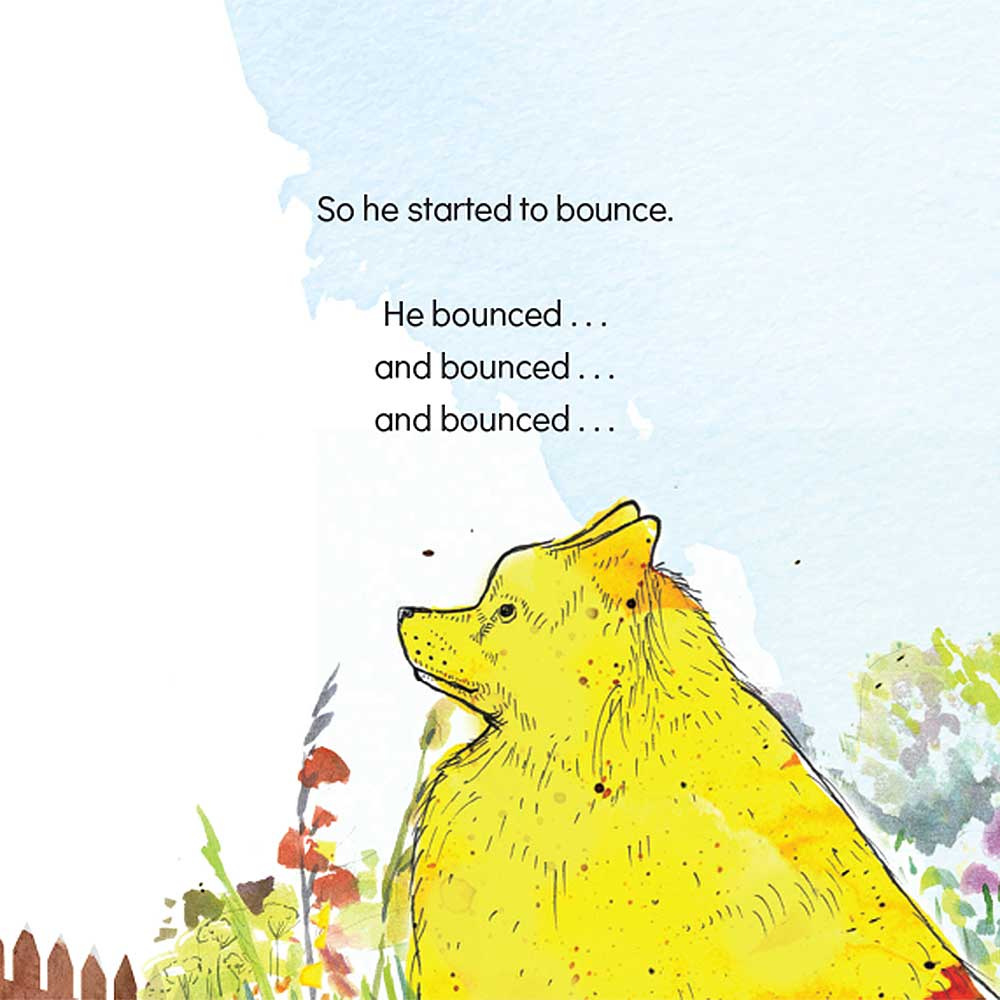 Short story for kids The Bounce dog tale page 20