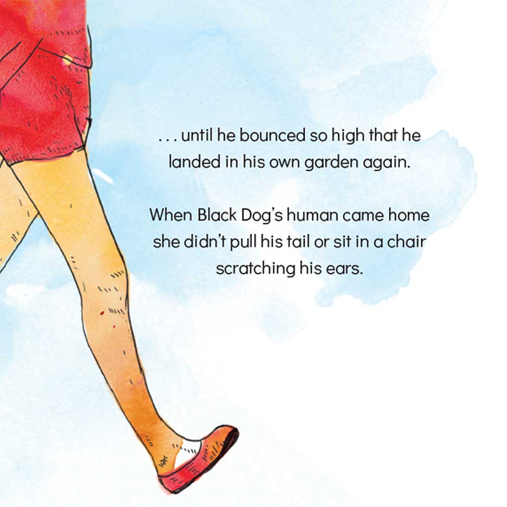 Short story for kids The Bounce dog tale page 21