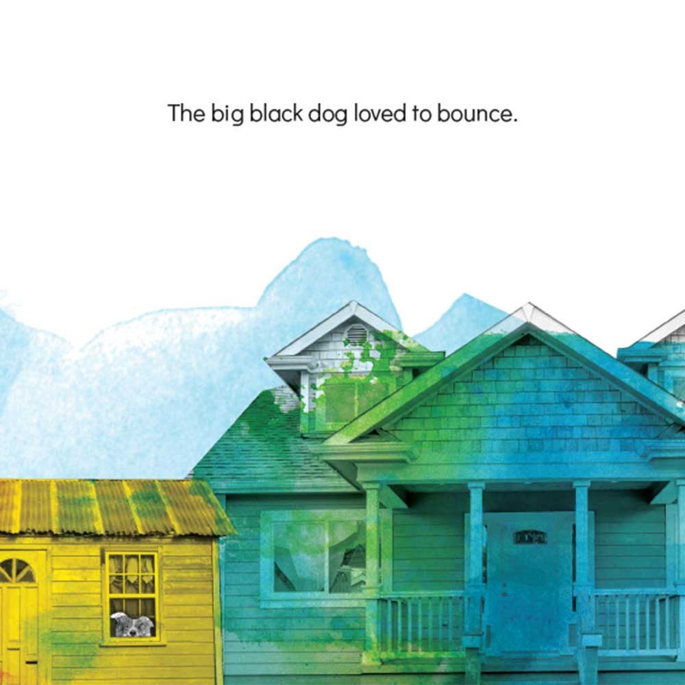 Short story for kids The Bounce dog tale page 4