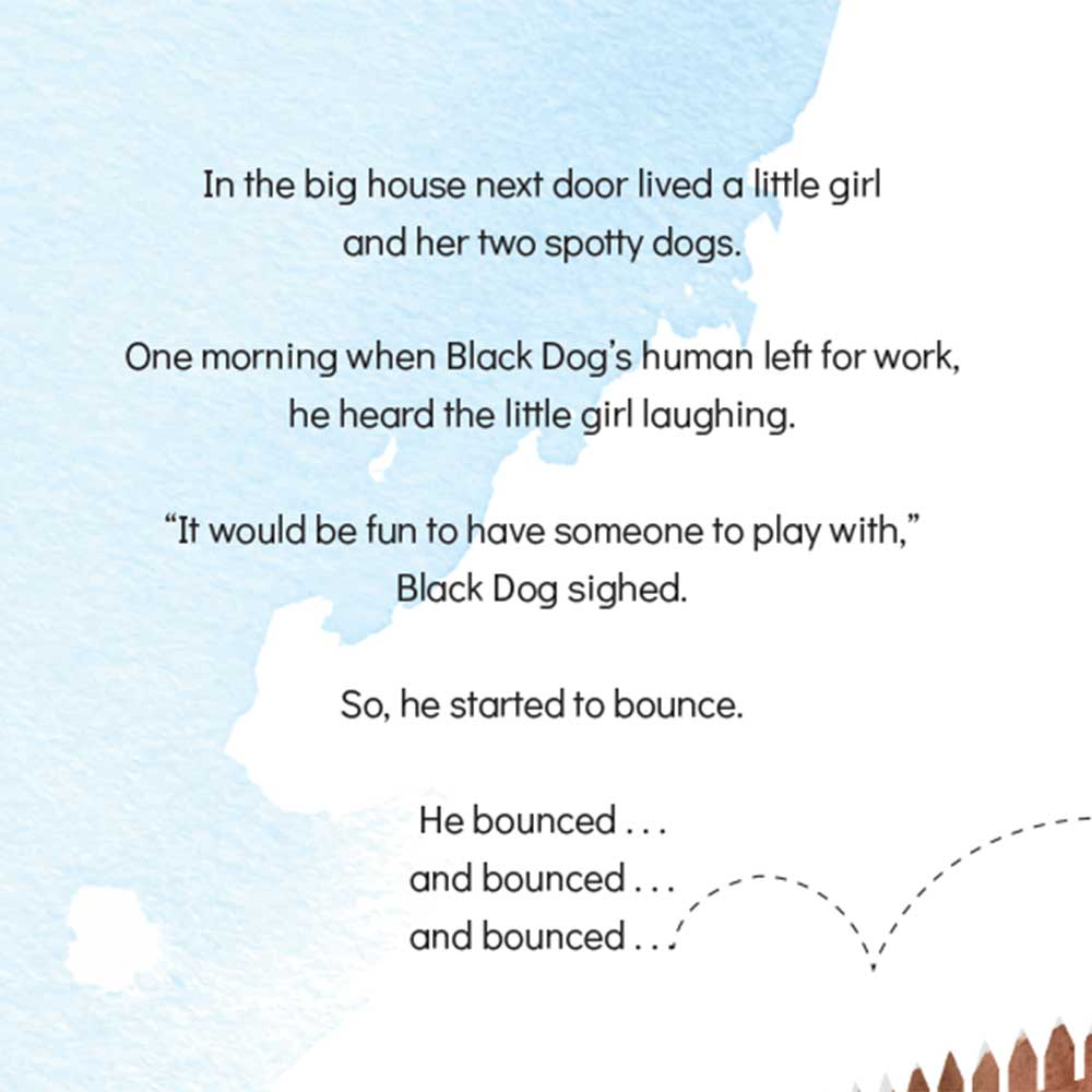 Short story for kids The Bounce dog tale page 7