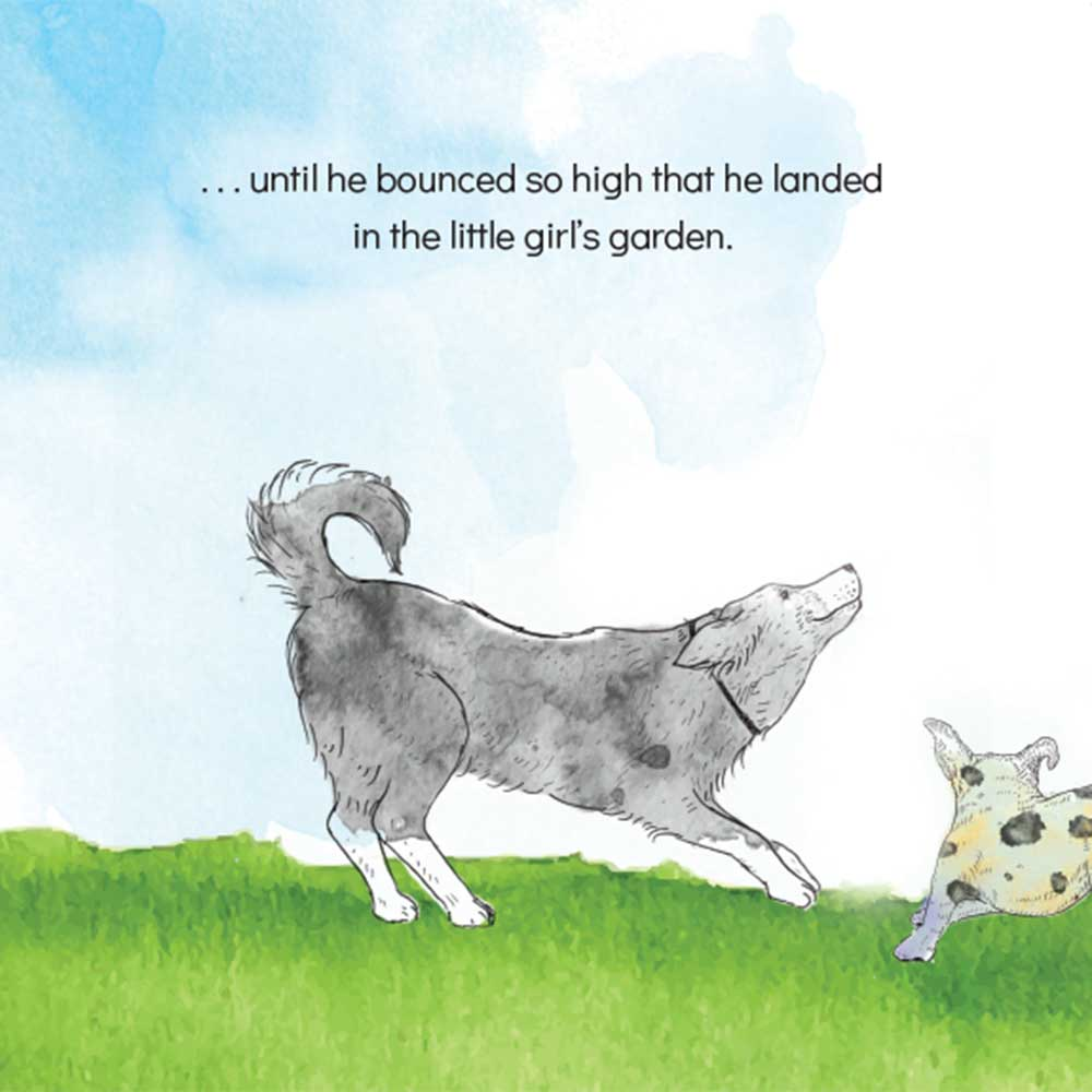 Short story for kids The Bounce dog tale page 9
