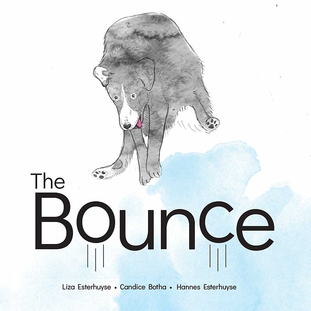 Short story for kids The Bounce dog tale cover