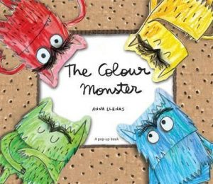 The Colour Monster Pop Up by Anna Llenas - best books for children about feelings and emotions