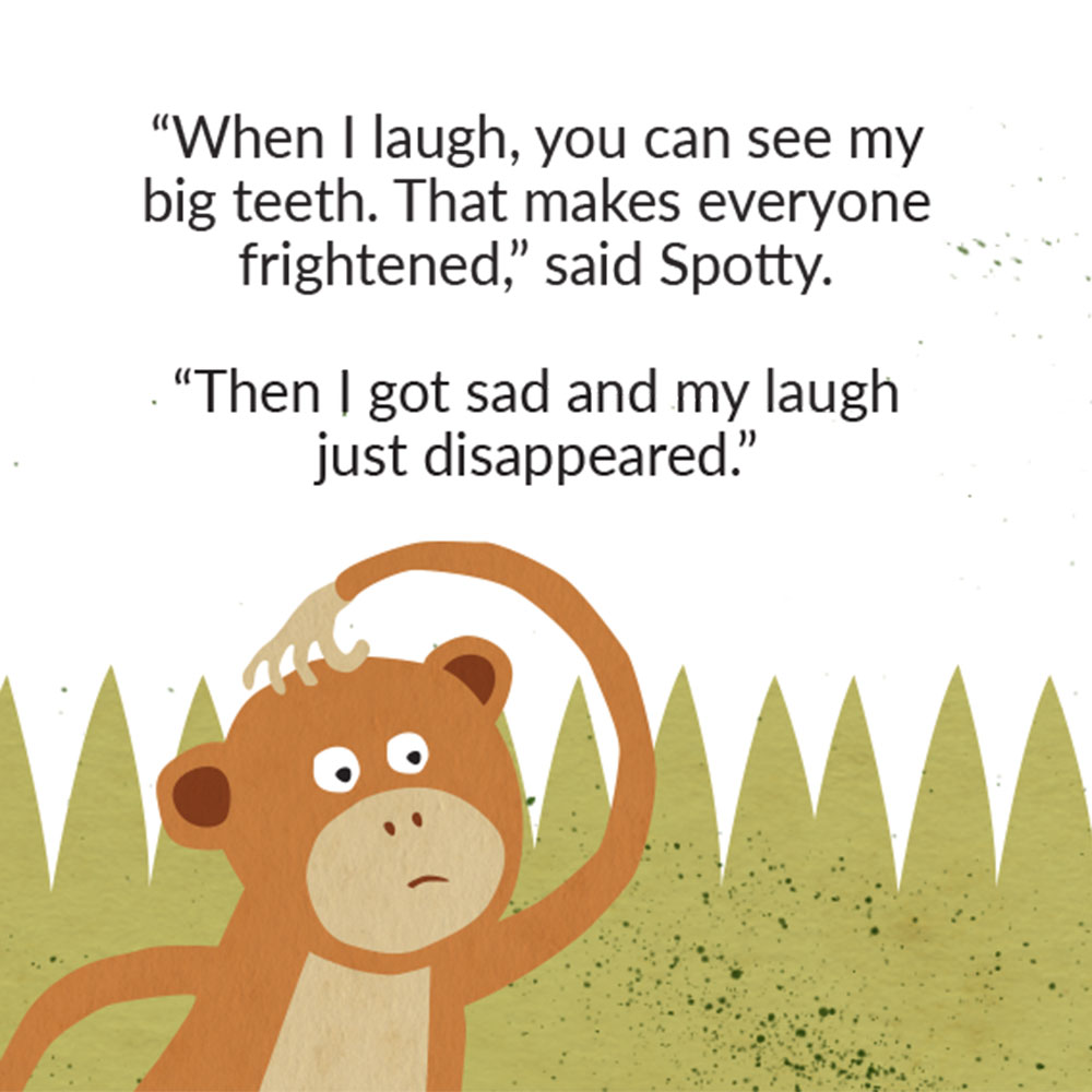 The Lost Laugh short story for kids picture book page 12