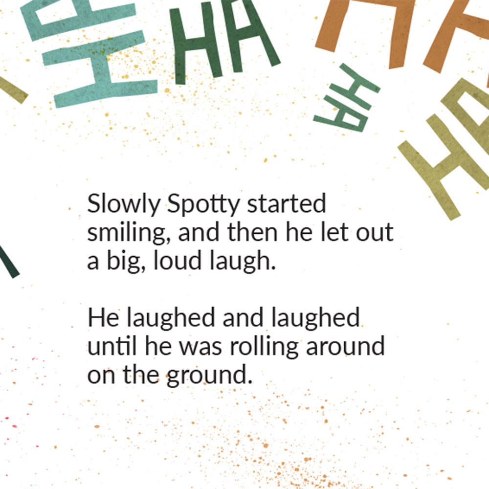The Lost Laugh short story for kids picture book page 19