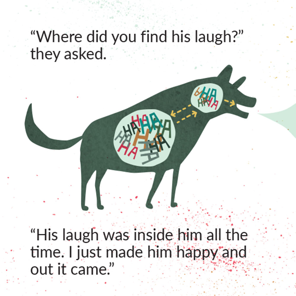 The Lost Laugh short story for kids picture book page 22