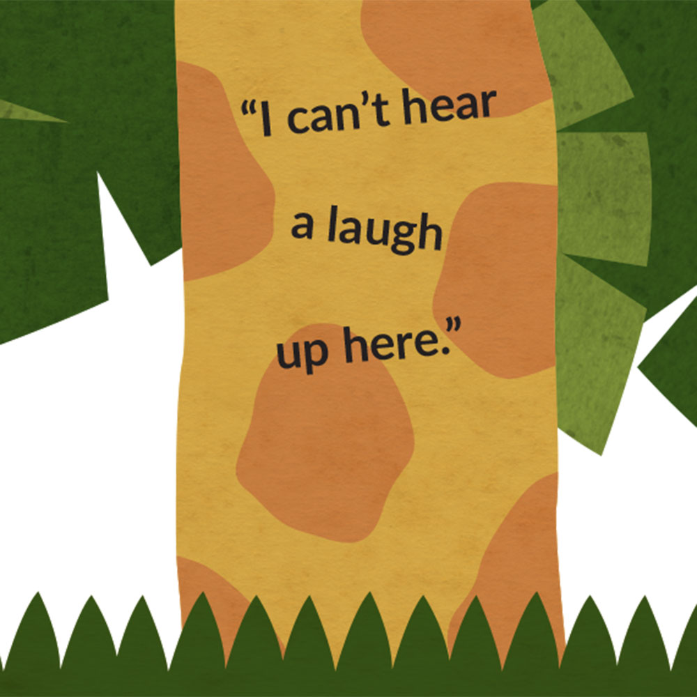 The Lost Laugh short story for kids picture book page 5
