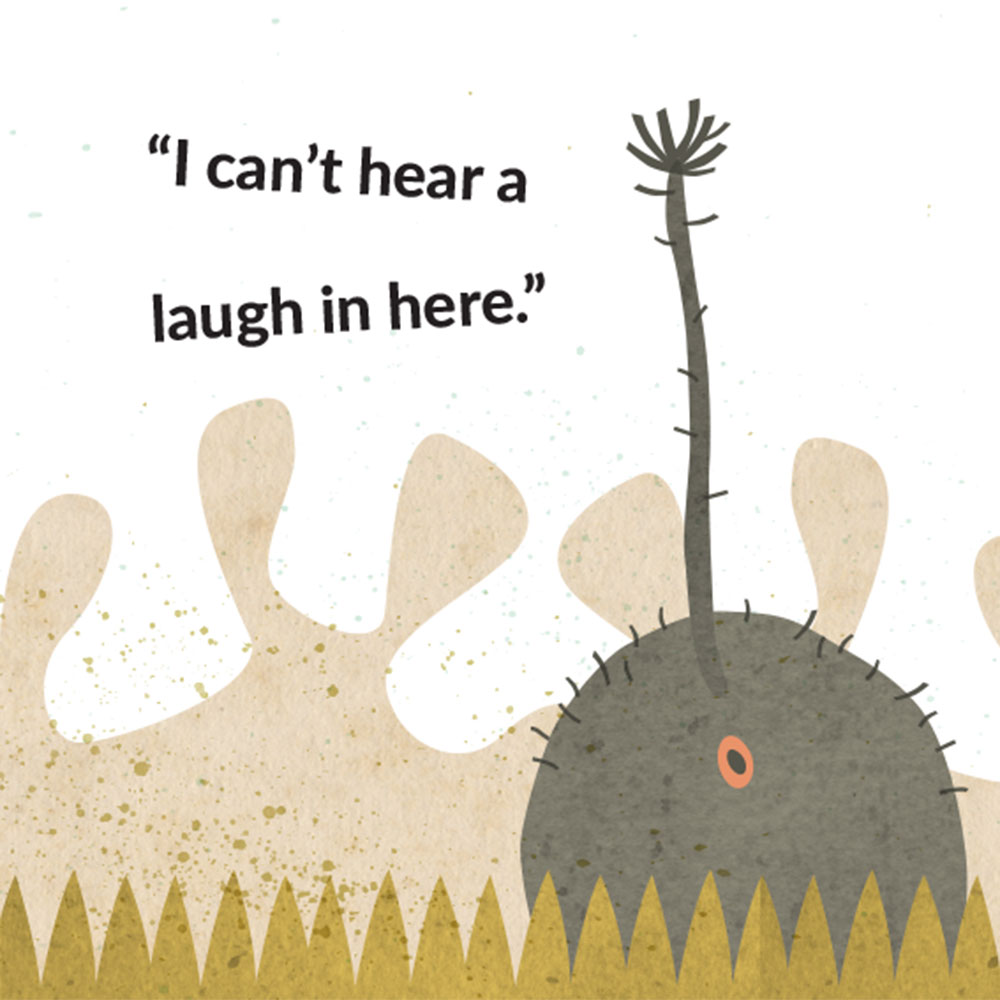 The Lost Laugh short story for kids picture book page 9