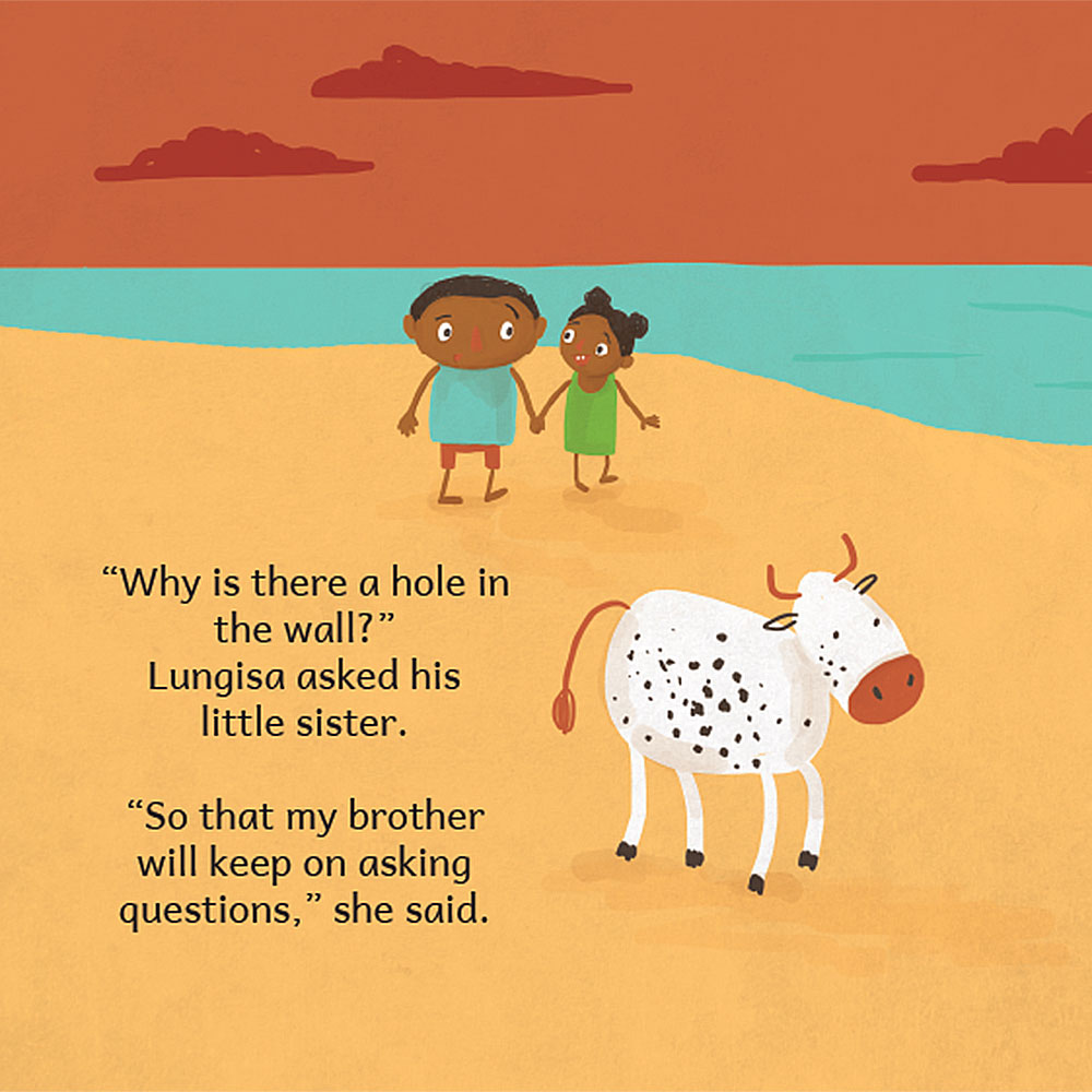 Why Is There A Hole In The Wall short stories for kids page 23