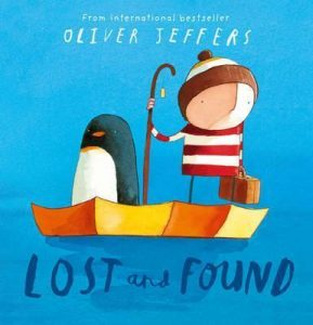 Best books for kids on love and friendship - Lost and Found by Oliver Jeffers