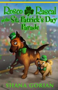Short stories for kids Rosco St Patricks Day Parade book cover