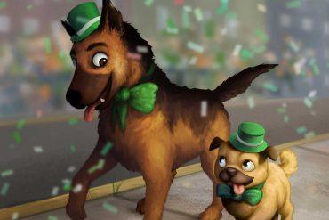 Short stories for kids Rosco St Patricks Day Parade header