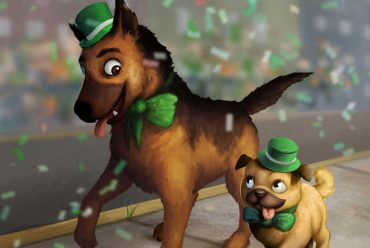 Short stories for kids Rosco St Patricks Day Parade header