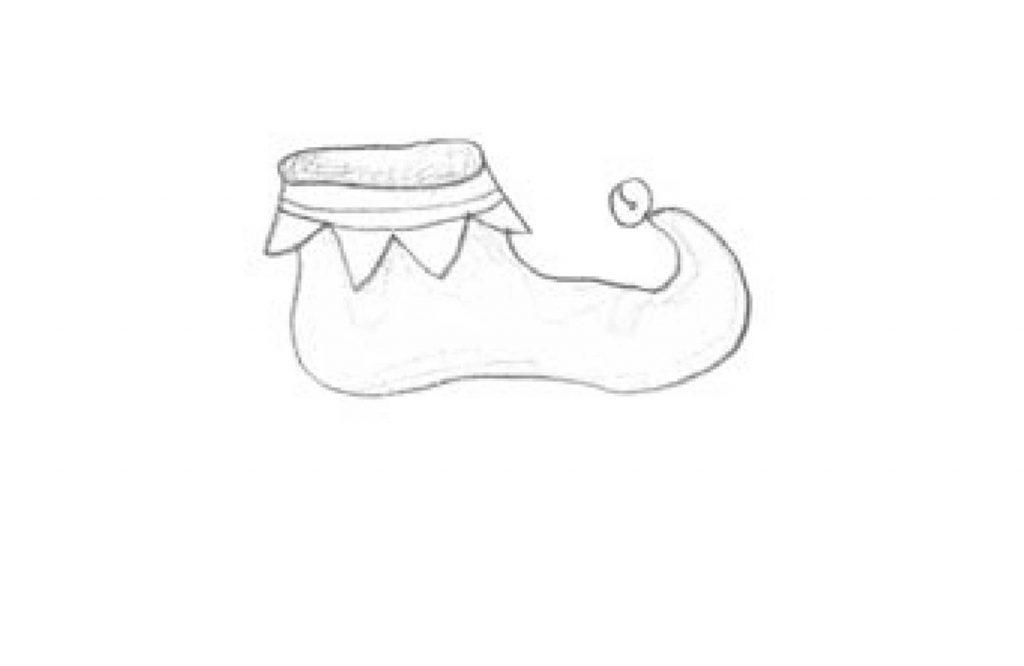 Stinky Goblin middle grade fiction chapter 11 illustration elf shoe