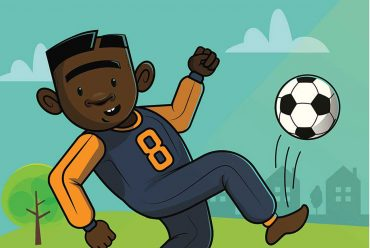 Where is Thabo free childrens football book