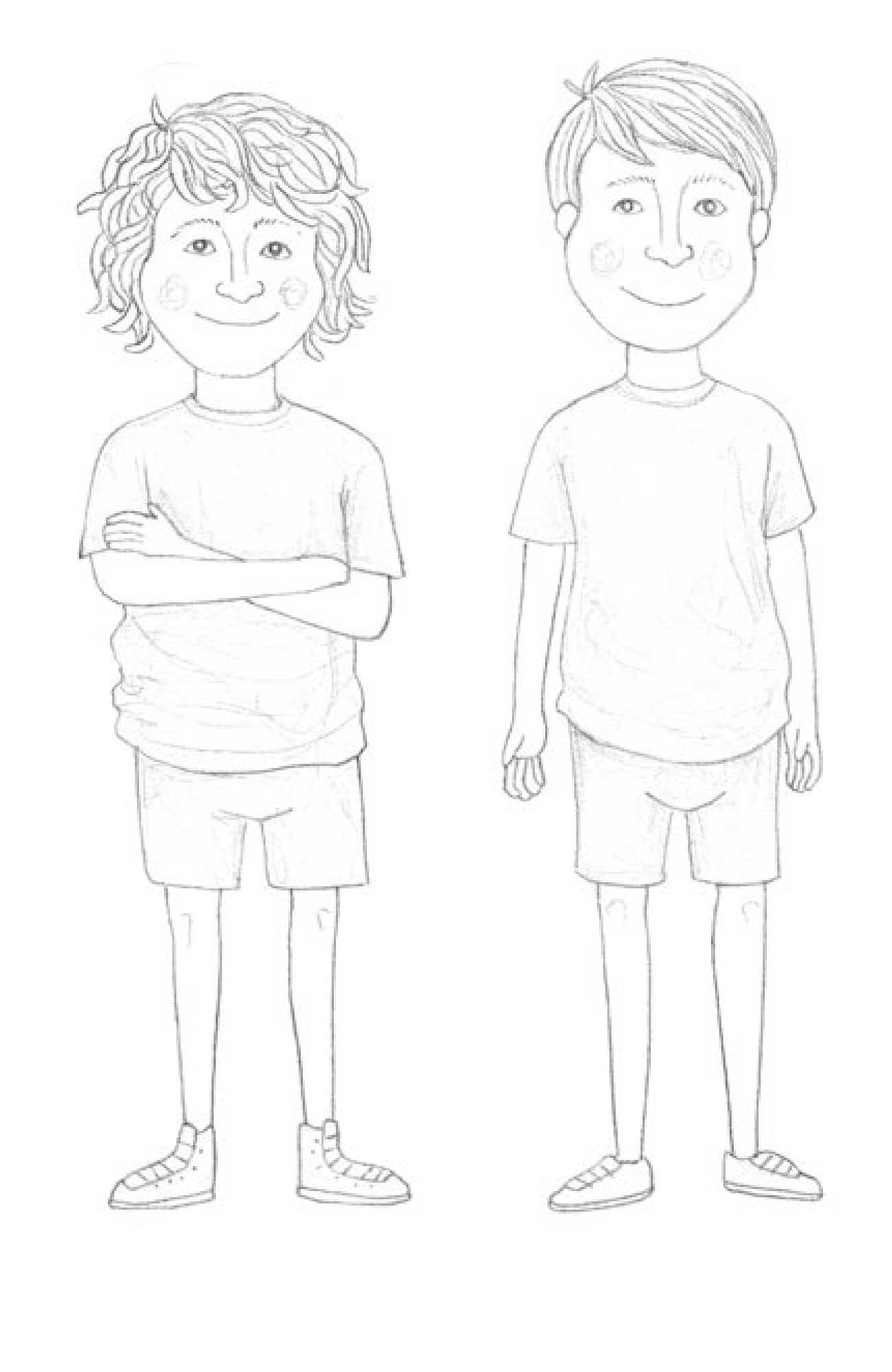 A Stinky Goblin middle grade fiction chapter 1 illustration