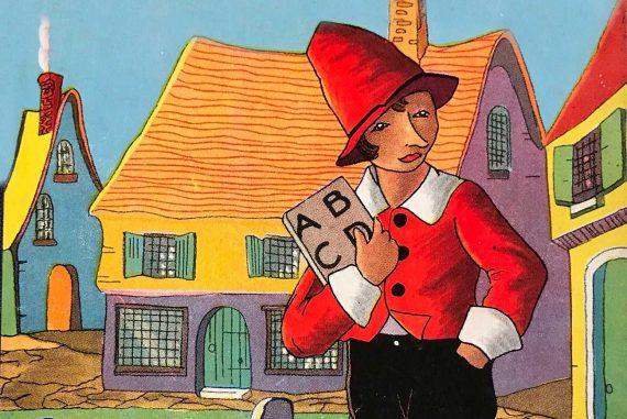 The Adventures of Pinocchio original story book cover