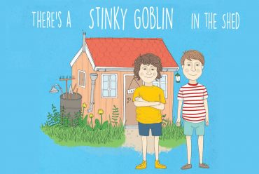 Theres A Stinky Goblin In The Shed Free Middle Grade MG Serial story header illustration