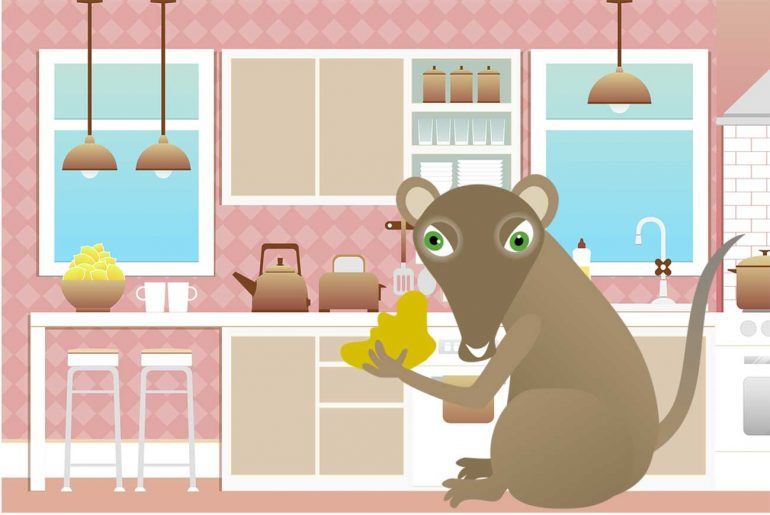 Illustration for The Vanishing Cheese poems for kids