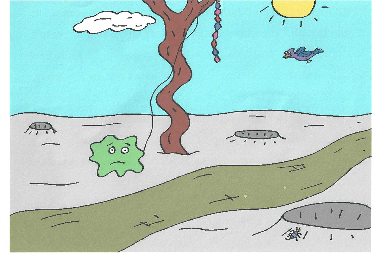 Squiff and the Bday Surprise short story for kids page 6