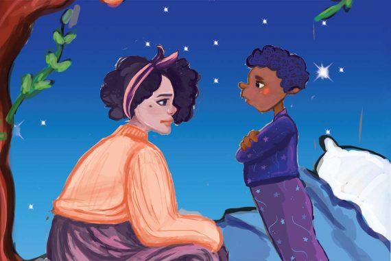Bedtime stories The Dream Pillow header illustration