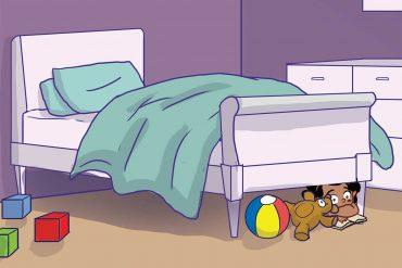 Short stories for kids Where is Lulu header illustration