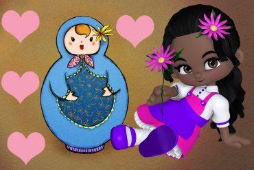Funny poems for kids illustration for poem Bye Bye Baby