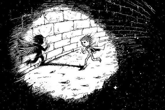 Poems for kids illustration bad habit Marvin