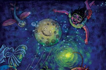 Bedtime stories The Night The Moon Went Missing header illustration