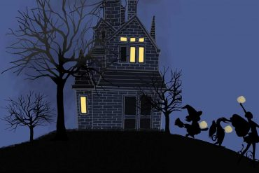 Bedtime Stories Baby's First Trick or Treat Halloween book header