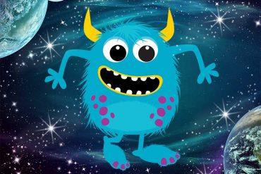 Bedtime story Bumbly Wumbly's Sunshine monster books header illustration