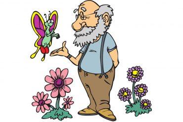 Fairy Tales illustration Mr Vinegar