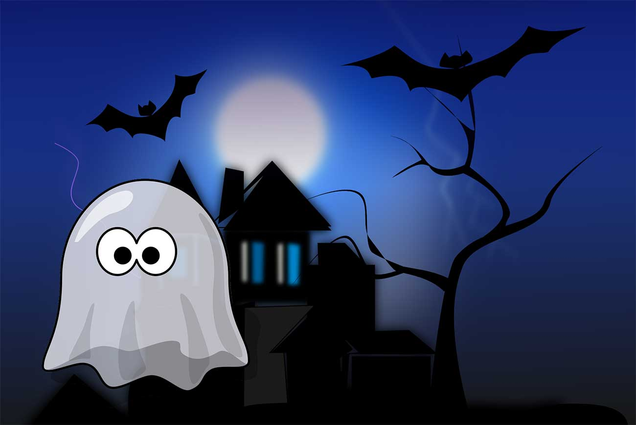 Me and My Ghost | Halloween Poems for Kids | Bedtime Stories